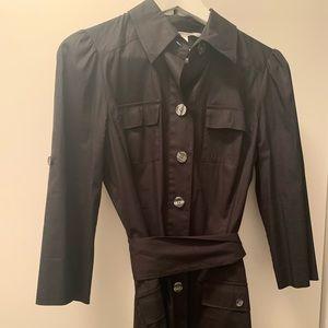 diane von furstenberg Black Shirt Dress